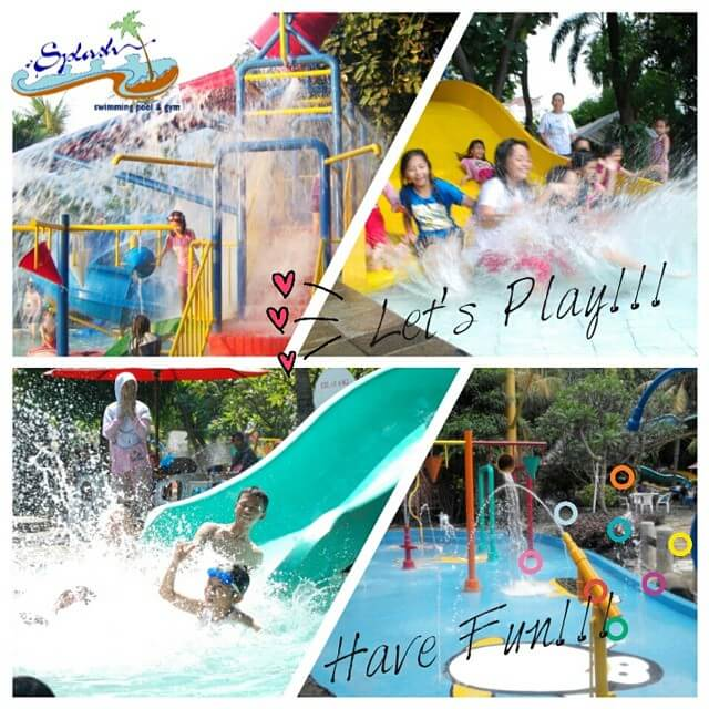 Splash swimming pool & gym