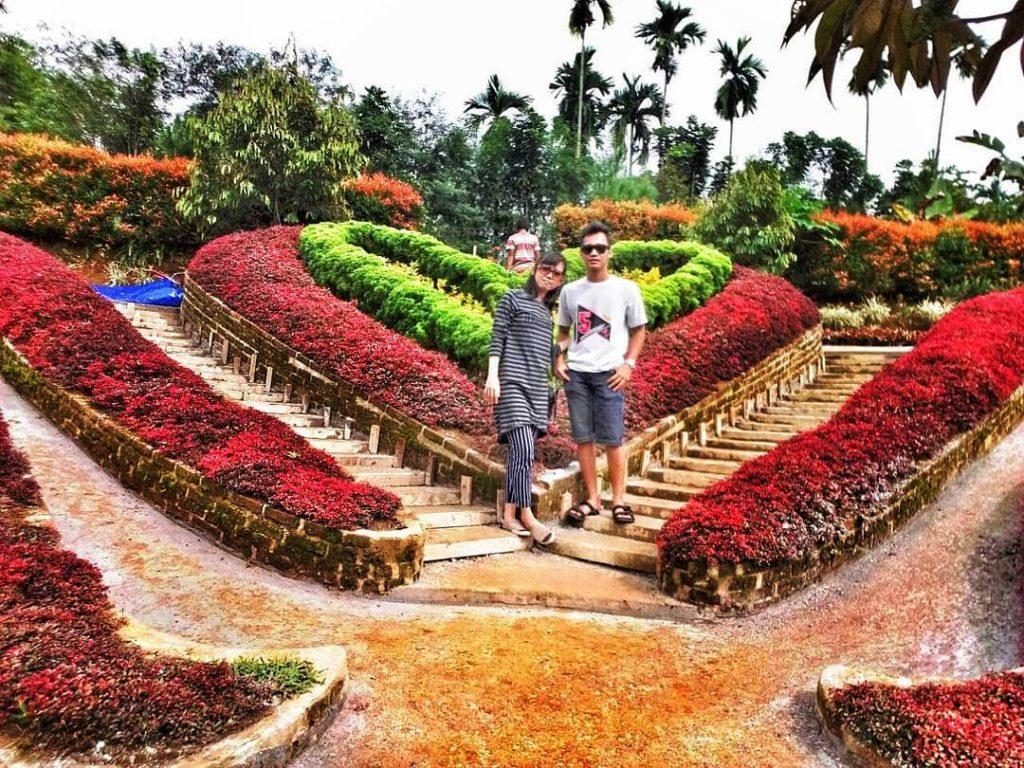 Wisata Taman Favorit Di Sumatra Utara The Le Hu Garden Medan
