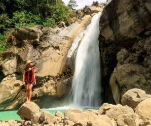 Air terjun Mangku Kodek Lombok