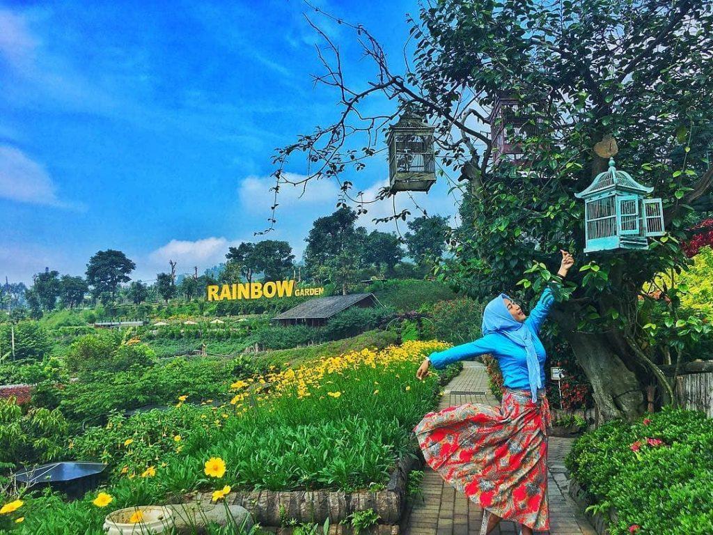 Alamat Dan Harga Tiket Masuk Rainbow Garden Bandung Jabar