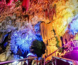 stalaktit atau stalakmit goa gong
