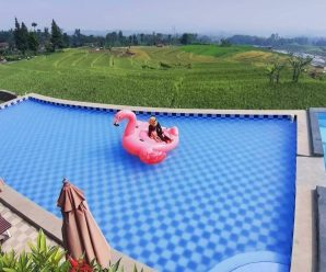 Kolam Renang Villa Pasir Bungur Bandung