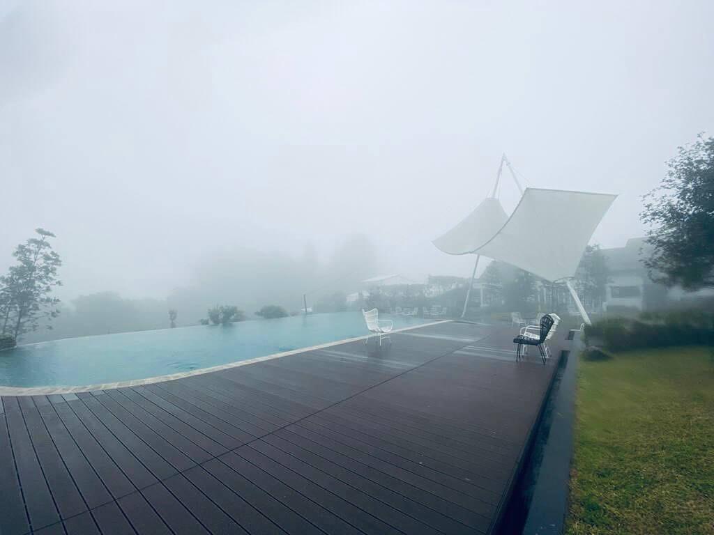 kolam renang Leuweung Geledegan Ecolodge